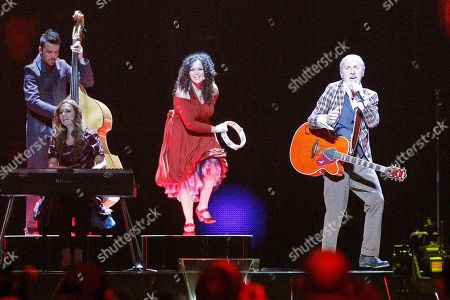 Dino Merlin Dino Merlin, right, of Bosnia performs the song 'Love In Rewind' during the rehearsal for the second semifinal of the Eurovision Song Contest (ESC) in Duesseldorf, Germany, . The final of the ESC will be held on Saturday