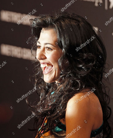 Lucia Perez Lucia Perez of Spain reacts to the media at a press conference of the Eurovision Song Contest (ESC) in Duesseldorf, Germany, . The final of the ESC will be held on Saturday