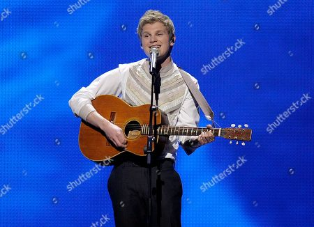 Paradise Oskar Paradise Oskar performs for Finland during a dress rehearsal prior to the first semifinal of the Eurovision Song Contest (ESC) in Duesseldorf, western Germany, . The final of the ESC 2011 is to take place in Duesseldorf on Saturday, May 14