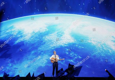 Paradise Oskar Paradise Oskar of Finland performs the song 'Da Da Dam' during the first semifinal of the Eurovision Song Contest (ESC) in Duesseldorf, Germany, . The final of the ESC will be held on Saturday