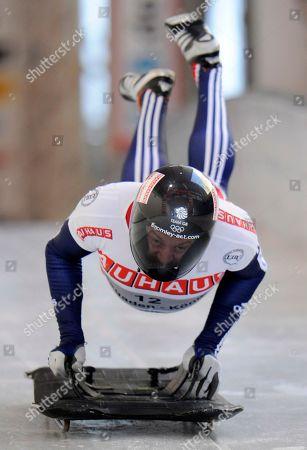Editorial photo of Germany Skeleton World Championship, Koenigssee, Germany