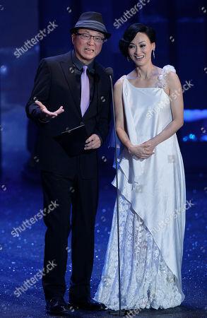 Kara Hui, Michael Hui Hong Kong actress Kara Hui and actor Michael Hui present the Best Actress award at the Hong Kong Film Awards in Hong Kong