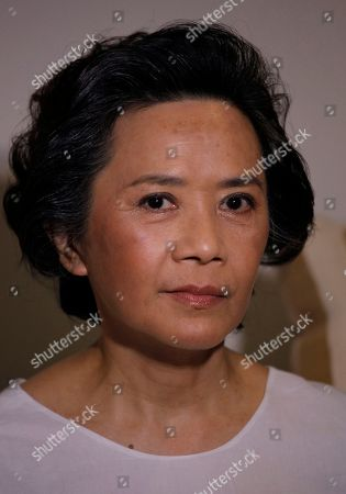 """Deannie Yip Hong Kong actress Deannie Yip reacts as she speaks to reporters during a film shoot with her new movie """"To Tse"""" in Hong Kong . Hong Kong has produced Chinese cinema's biggest names, but for the former British colony's actors and directors, the future now lies in the thriving mainland market"""