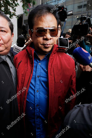 "Luis ""Chavit"" Singson Luis ""Chavit"" Singson, a provincial governor in the Philippines, father of Philippine Rep. Ronald Singson, leaves the Hong Kong's District Court after Ronald's sentenced . A Hong Kong judge has sentenced the Philippine congressman Ronald Singson to 18 months in prison for bringing cocaine into the southern Chinese territory for his personal use"