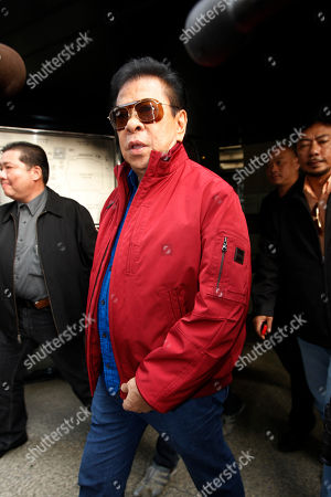 "Luis ""Chavit"" Singson Luis ""Chavit"" Singson, a provincial governor in the Philippines, the father of Philippine Rep. Ronald Singson, leaves the Hong Kong's District Court after Ronald's sentenced . A Hong Kong judge has sentenced Philippine congressman Ronald Singson to 18 months in prison for bringing cocaine into the southern Chinese territory for his personal use"