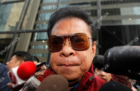 "Luis ""Chavit"" Singson Luis ""Chavit"" Singson, a provincial governor in the Philippines, father of Philippine Rep. Ronald Singson, leaves the Hong Kong's District Court after Ronald's sentenced . A Hong Kong judge has sentenced a Philippine congressman to 18 months in prison for bringing cocaine into the southern Chinese territory for his personal use"