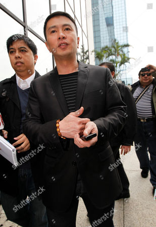 "Stock Photo of Ronald Singson Philippine Rep. Ronald Singson, son of Luis ""Chavit"" Singson, a provincial governor in the Philippines, arrives the Hong Kong's District Court . A Hong Kong judge has sentenced the Philippine congressman to 18 months in prison for bringing cocaine into the southern Chinese territory for his personal use"