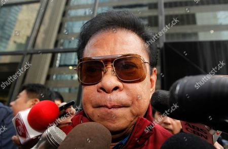"Stock Image of Luis ""Chavit"" Singson Luis ""Chavit"" Singson, a provincial governor in the Philippines, father of Philippine Rep. Ronald Singson, leaves the Hong Kong's District Court after Ronald's sentence . A Hong Kong judge has sentenced the Philippine congressman to 18 months in prison for bringing cocaine into the southern Chinese territory for his personal use"