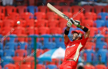 John Davison Canada's cricketer John Davison bats during the Cricket World Cup Group A match between Australia and Canada in Bangalore, India