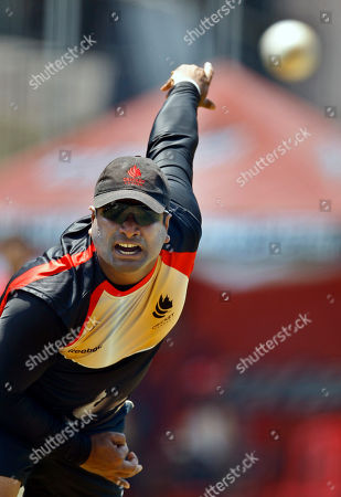 Balaji Rao Canada's cricketer Balaji Rao bowls in the nets during a training session in Bangalore, India, . Canada will play against Australia in the Cricket World Cup Group A match on March 16