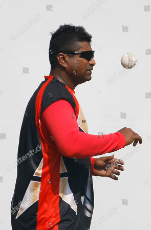 Balaji Rao Canada's cricketer Balaji Rao bowls in the nets during a training session in Nagpur, India, . Canada will play Zimbabwe in Cricket World Cup Group A match on Feb. 28