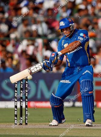 Andrew Symonds Mumbai Indians Andrew Symonds bats during an Indian Premier League (IPL) cricket match between Rajasthan Royals and Mumbai Indians in Jaipur, India