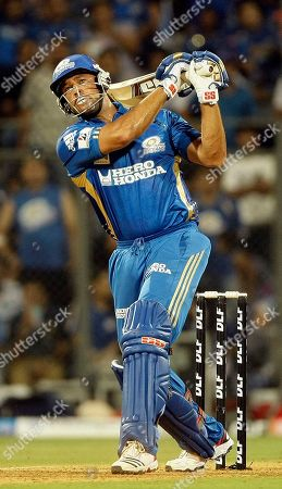 Andrew Symonds Mumbai Indians' Andrew Symonds bats during the Indian Premier League (IPL) cricket match against Chennai Super Kings in Mumbai, India