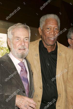 Robert Benton, Director and Morgan Freeman