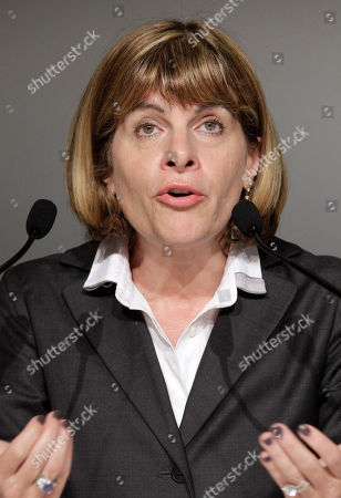 Areva Chief Exective Officer Anne Lauvergeon speaks during a press conference in Tokyo,. Lauvergeon said she appreciated the enormity of the problem. Areva, a large supplier of nuclear fuel, sent staff with expertise in boiling water reactors and disposing of contaminated water and fuel rods