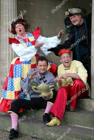 Clive Mantle, Chris Till, Chris Harris and Jon Monie