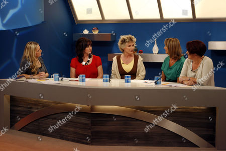 Jackie Brambles, Coleen Nolan, Debbie Harry, Carol McGiffin, Jo Bunting.