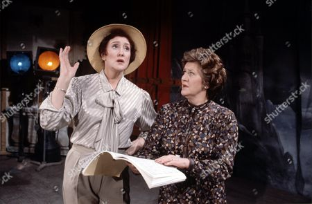 Anna Quayle (left) and Patricia Routledge in 'Marjorie And Men' - 1985