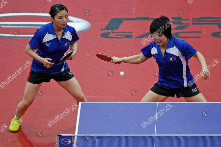 Editorial picture of Netherlands Table Tennis Worlds, Rotterdam, Netherlands