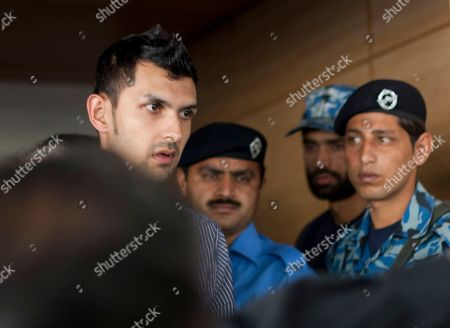 Zulqarnain Haider Pakistani wicketkeeper Zulqarnain Haider, left, arrives at Islamabad airport on in Pakistan. Haider fled to Britian from Dubai in November 2010 during a One Day cricket series saying he received death threats from match fixers