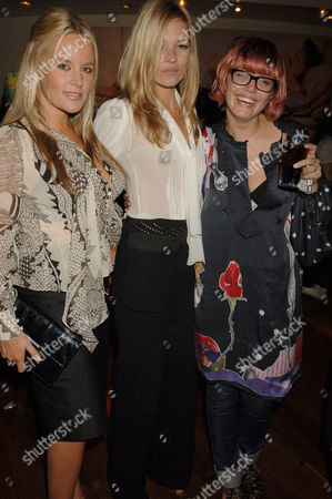 Davinia Gardner, Kate Moss and Mairead Nash