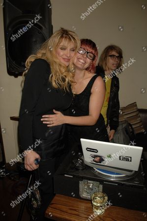 Courtney Love and Mairead Nash