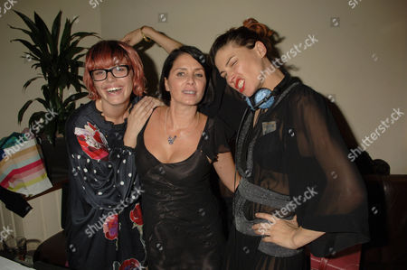 Sadie Frost and The Queens of Noize Mairead Nash and Tabitha Denholm