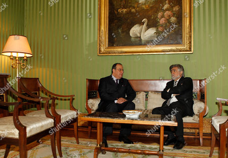 Taib Fassi-Fihri, Luis Amado Morocco's Foreign Minister Taib Fassi-Fihri, left, meets with his Portuguese counterpart Luis Amado at the Necessidades palace, the Portuguese Foreign Ministry, in Lisbon. The two ministers discussed the current situation in north Africa