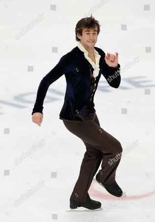 Ryan Bradley Ryan Bradley, of the United States, performs his free program at the ISU Figure Skating World championships in Moscow, Russia