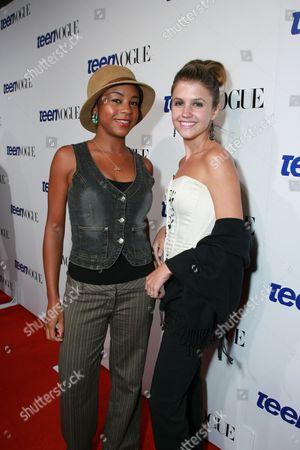 Aasha Davis and Gabrielle Christian