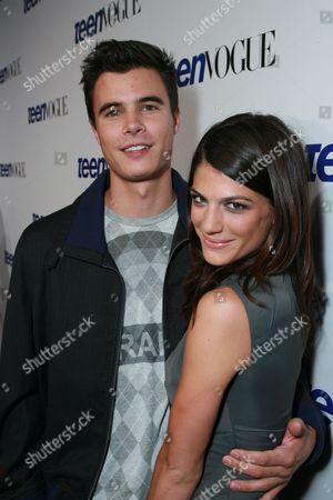 Stock Image of Ryan Sypek and Genevieve Cortese