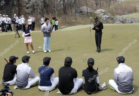 Editorial picture of South Korea Golf Tiger Woods, Chuncheon, South Korea