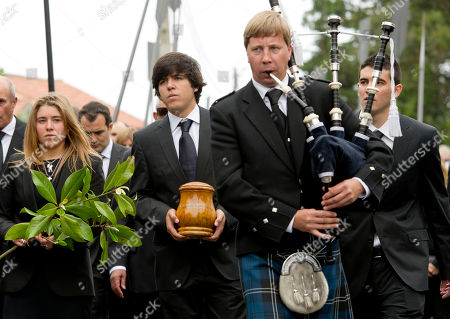 Editorial picture of Spain Ballesteros Funeral, Pedrena, Spain