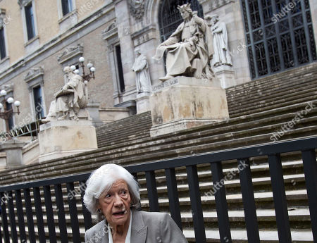 Ana Maria Matute Spanish author Ana Maria Matute is seen before a news conference outside the National Museum in Madrid . Matute will be presented with Spain's 2010 Cervantes Prize, the Spanish-speaking world's top literary honor, Wednesday. Matute, 85, is ranked as one of the country's best post-Civil War writers. Her work often centers on that conflict, which took place from 1936-39