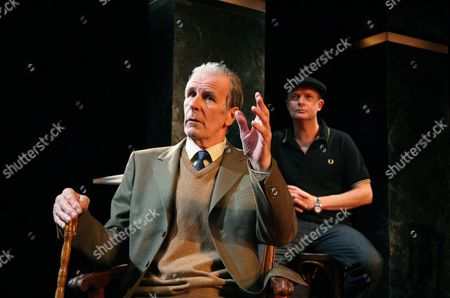 Stock Photo of 'Life After Scandal' - Tim Preece (Lord Montagu) Simon Coates (Duncan Roy)