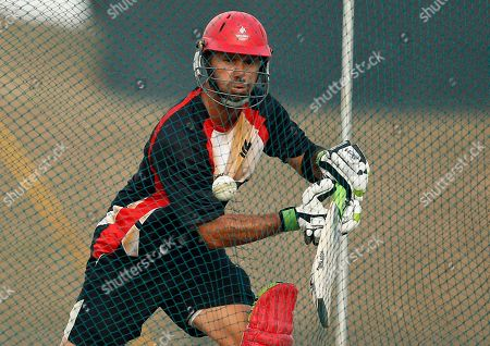 John Davison Canada's cricketer John Davison plays a shot during a practice session at the Mahinda Rajapaksa International Cricket Stadium in Hambantota, Sri Lanka