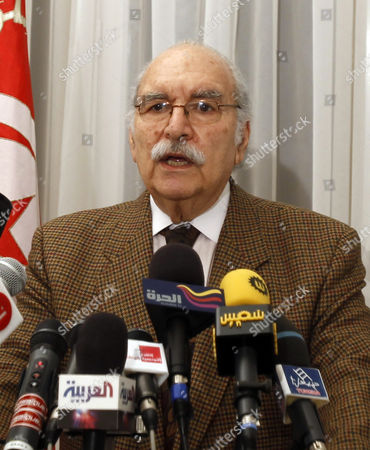 Fouad Mebazaa Tunisian President Fouad Mebazaa announces the new Tunisian Prime Minister during a press conference, in Tunis, . Mebazaa named former government minister Beji Caid-Essebsi as prime minister