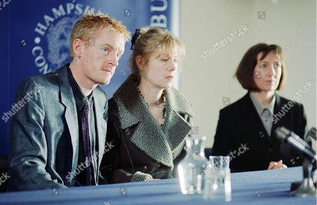 Russell Mabey with Annette Bentley (centre) and Sasha Mitchell in 'Harm Done' - 2000