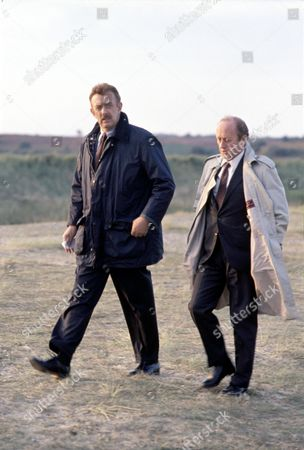 'PD James Mini Series'   TV   'Unnatural Causes'  Kenneth Colley (right) and Roy Marsden