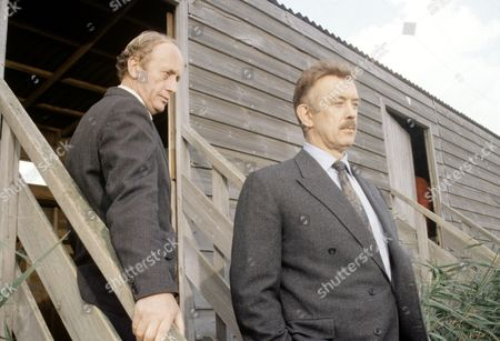 'PD James Mini Series'   TV   'Unnatural Causes'  Kenneth Colley (left) and Roy Marsden