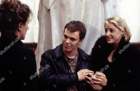 Penny Downie (left) with Ricci Harnett  and Flora Montgomery  in 'A Certain Justice' - 1998