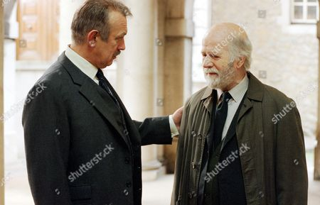 Roy Marsden and Philip Stone in 'A Certain Justice' - 1998