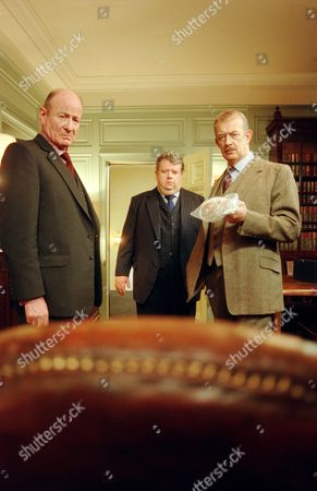 Frederick Treves, Ian McNeice and Roy Marsden in 'A Certain Justice' - 1998