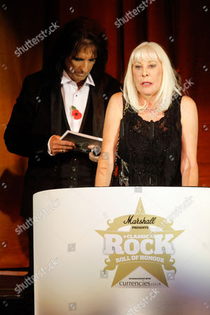 U.S artist Ronnie Dio won the Tommy Vance Inspiration Award which was accepted by widow Wendy Dio at The Classic Rock Awards at Roundhouse, Park Lane, London
