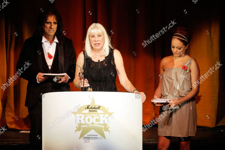 Editorial photo of Britain Classic Rock Awards, London, Gbr Xen