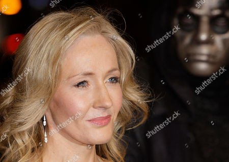 """J K Rowling A photo from files showing British author J K Rowling arriving at a cinema in London's Leicester Square for the World Premiere of Harry Potter and the Deathly Hallows Part 1. She may not be able to match the phenomenal success of the Harry Potter series, but J.K. Rowling has high hopes for """"The Casual Vacancy,"""" her first novel for adults. The title was announced Thursday, April 12, 2012, by Little, Brown & Co. along with a brief plot synopsis for the book.The publisher said it will be available worldwide on Sept. 27"""