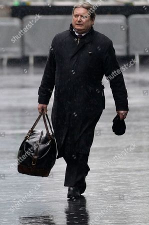 Stock Photo of Eric Illsley Former Labour Party Member of Parliament, Eric Illsley arrives at Southwark Crown Court in London for sentencing for dishonestly claiming parliamentary expenses, . Illsley resigned from parliament on Tuesday
