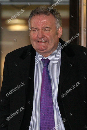 Stock Picture of Jim Devine Former Labour Party Member of Parliament Jim Devine leaves Southwark Crown Court in London after his hearing on false accounting on parliamentary expenses, . Devine has been found guilty of dishonestly claiming parliamentary expenses