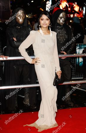 Afshan Azad British actress Afshan Azad arrives at a cinema in London's Leicester Square for the World Premiere of Harry Potter and the Deathly Hallows Part 1