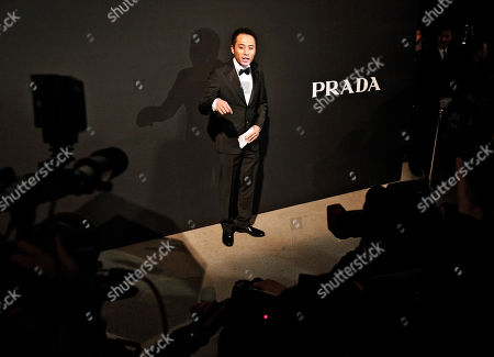 Liu Ye Chinese actor Liu Ye speaks to journalists upon arrival at the Italian design label Prada fashion show held in Beijing, China